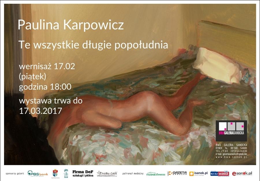 Paulina Karpowicz zaproszenie1