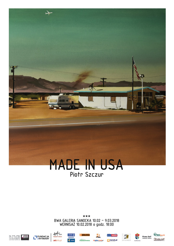 MADE IN USA rgb Plakat