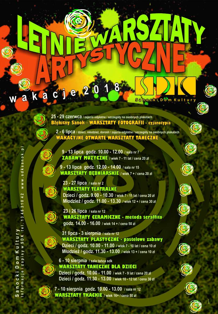 letnie warsztaty artstyczne plakat (1)
