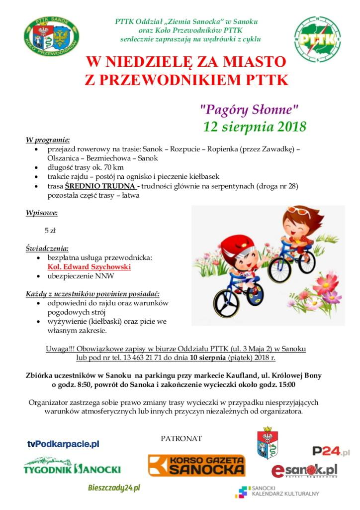Z przewodnikiem za miasto 12.08.2018 - Edek (rowerowa)-1
