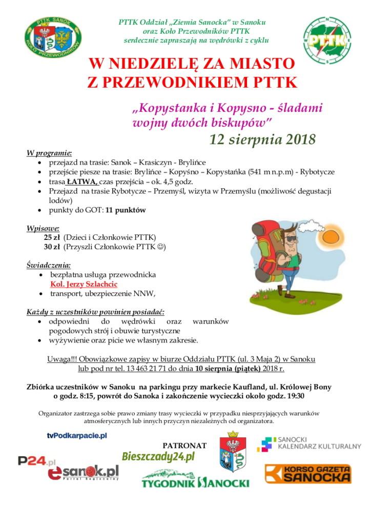 Z przewodnikiem za miasto 12.08.2018 - Jurek (piesza)-1 (1)